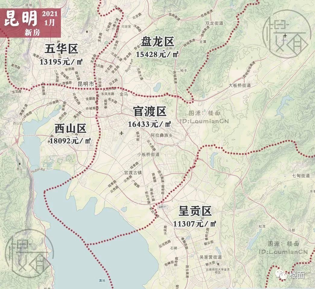 昆明市gdp2021_昆明市地图