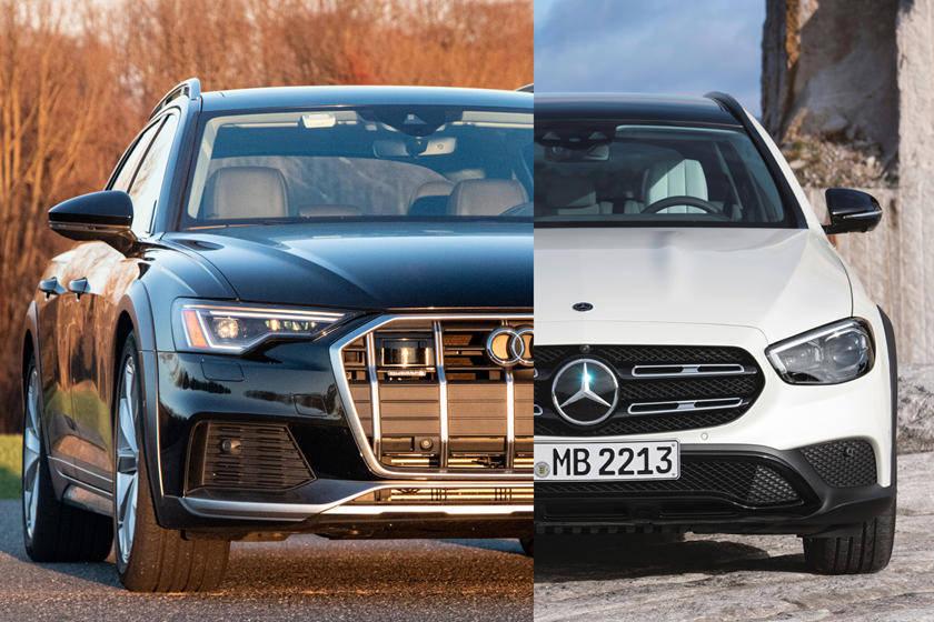原装家用缸王,奥迪A6 Allroad,奔驰E级全地形。应该选哪个?