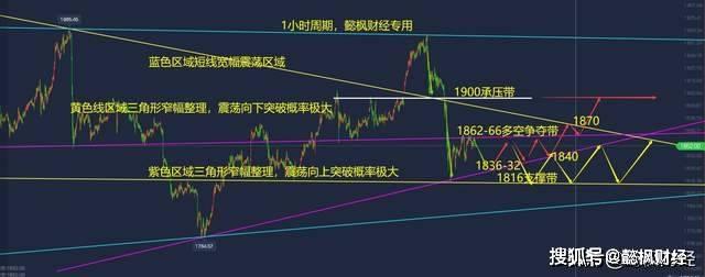 宜丰财经:黄金大幅波动,1866年成为多头上行的关键!