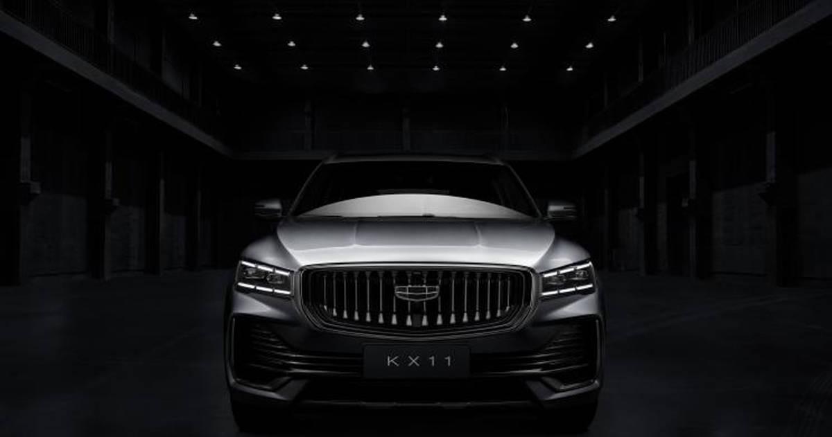 定位SUV/类似于兴瑞设计吉利KX11最新细节曝光