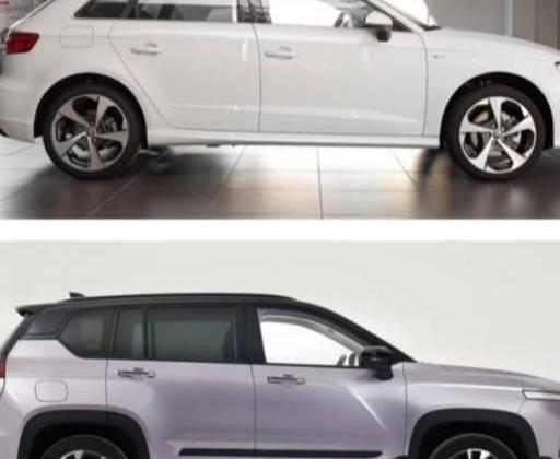 原装奥迪A3和宝骏RS5,入口和顶配有诚意,对比就能看出差距