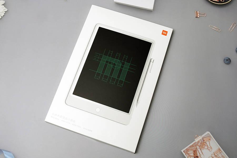 原来没有西贝的三个馒头贵?米家液晶黑板打开盒子告诉你49元值不值