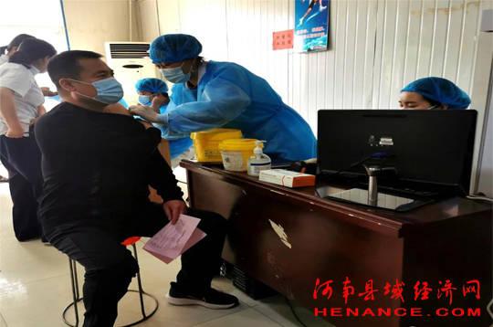 睢阳区宋城街道办事处:稳步推进新冠疫苗接种工作