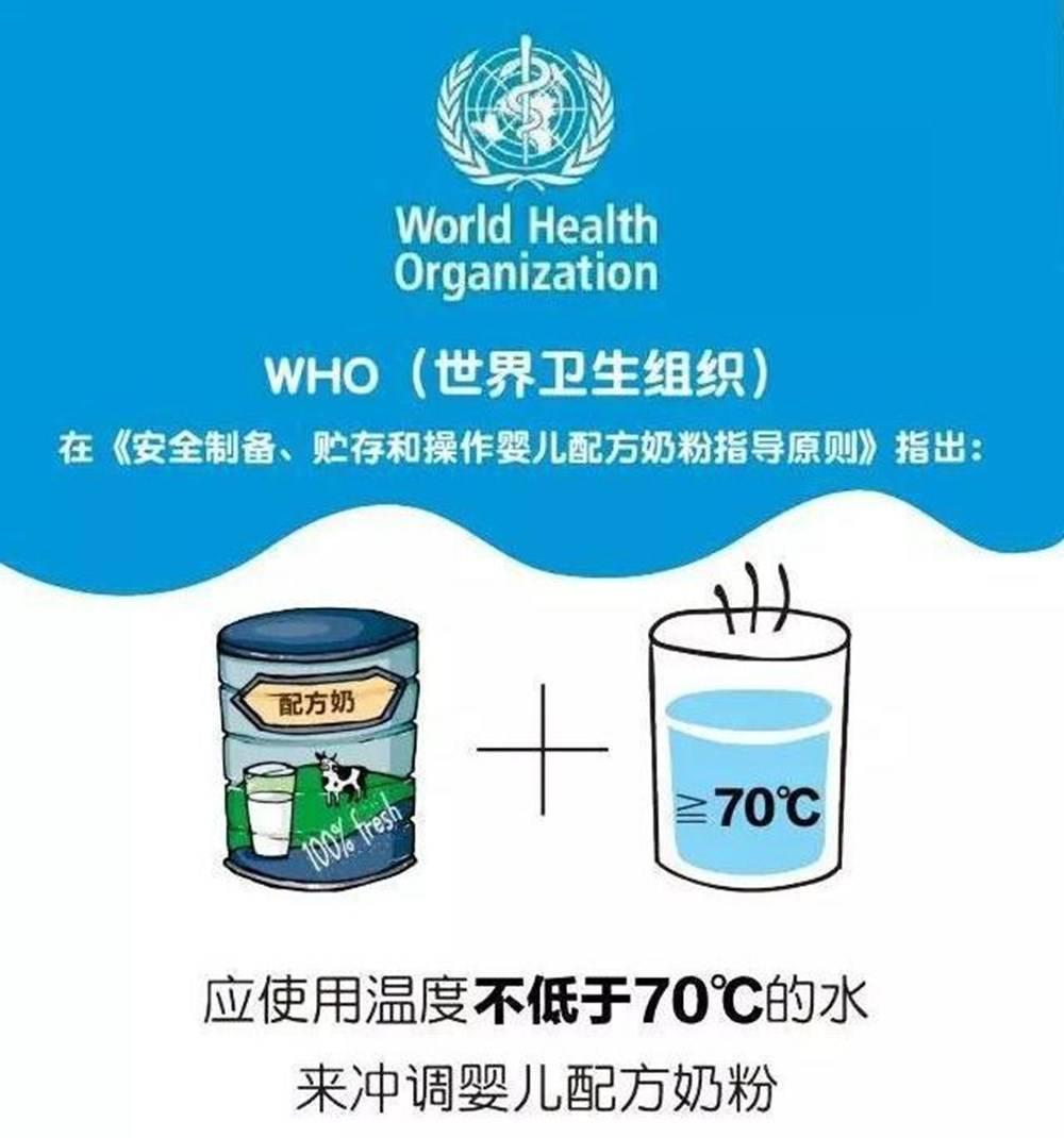 给宝宝冲奶粉,是用40℃还是70℃的水?水温过高会破坏营养吗?