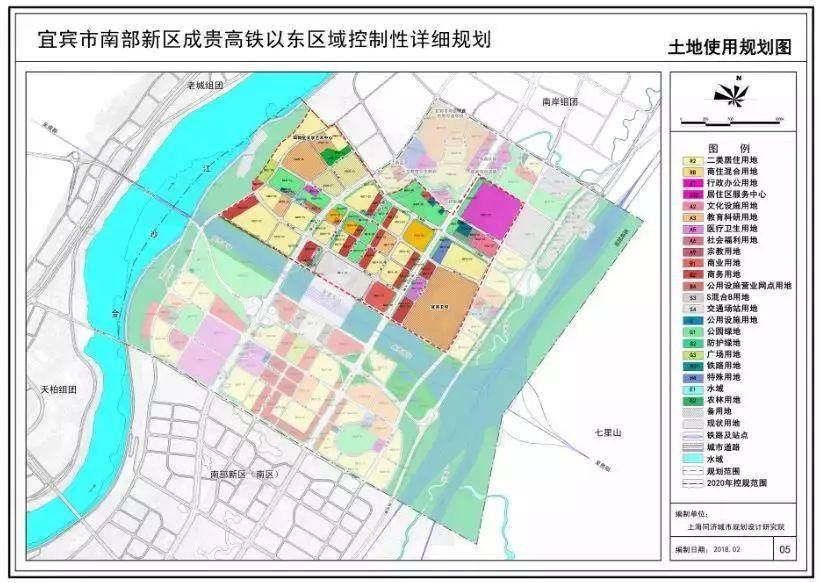 南部新区规划图