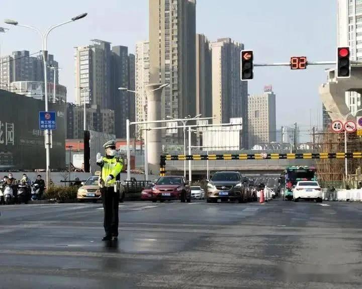 注意!健康路部分路段将实行临时交通管制!