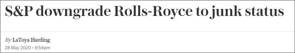 """标普下调信用评级至""""垃圾级"""",罗罗:很遗憾"""