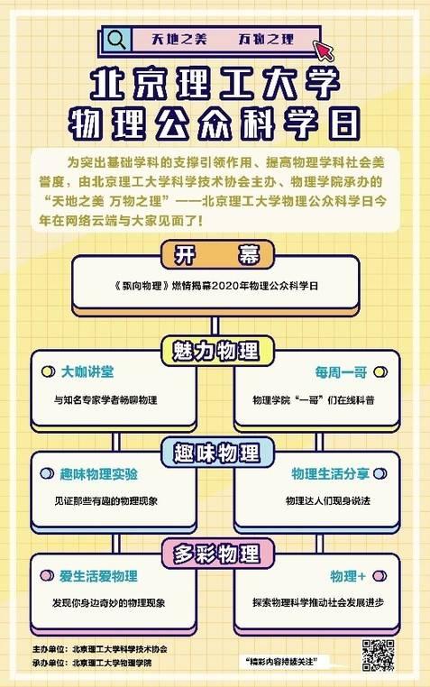 『物理』北京理工大学举办物理公众科学日:天地之美 万物之理,