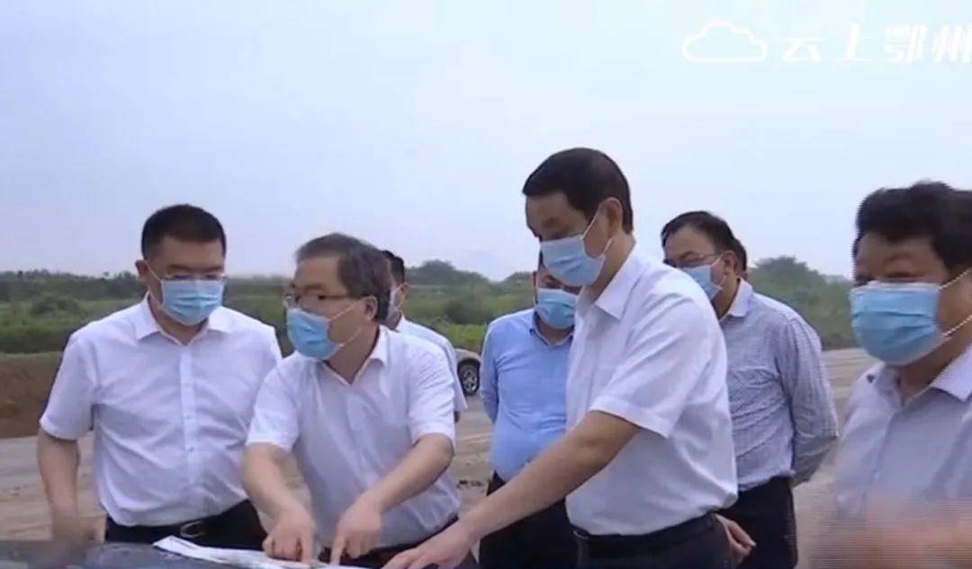 刘海军调研我市重点交通基础设施项目建设进展