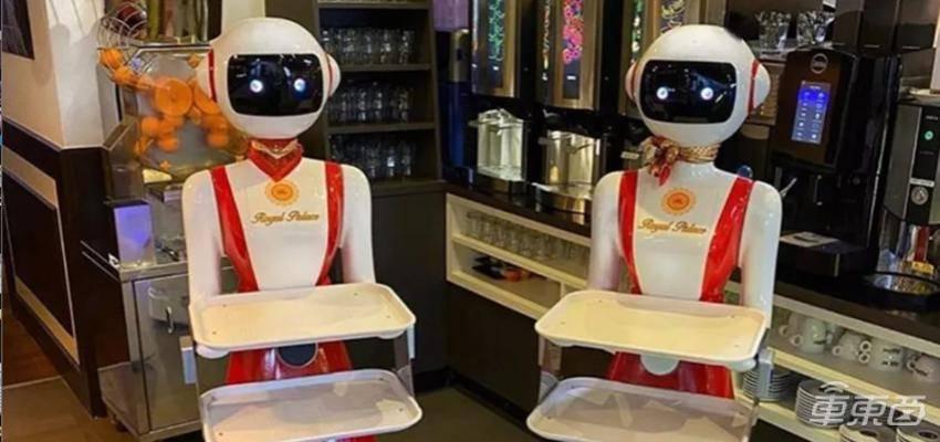 荷兰中餐厅老板雇佣机器人服务员,会迎宾上菜还会清理桌面