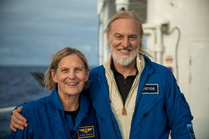 NASA首名太空行走女性下潜到海洋最深处,再创新记录