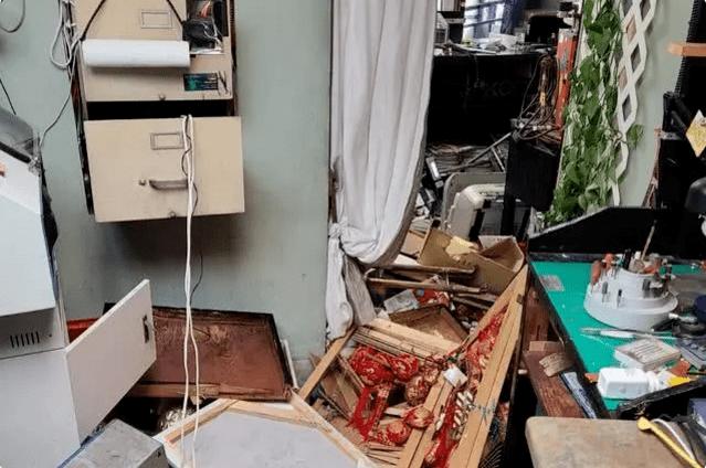 纽约华人当铺遭抗议示威者洗劫 老板娘被打断腿