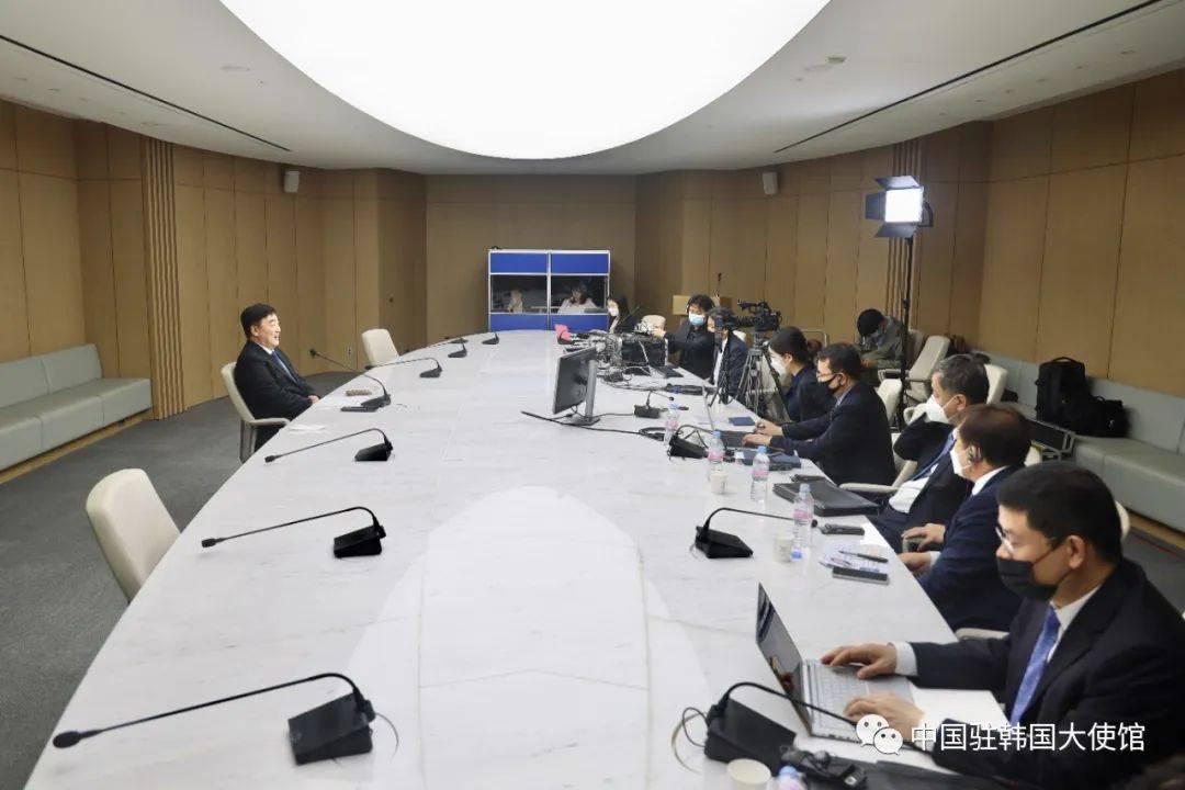 """驻韩大使:中国""""新基建""""潜力巨"""