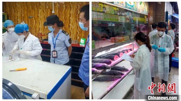 广州水产市场_广州黄沙水产市场抽检进口三文鱼等71个样品 均为阴性_批发