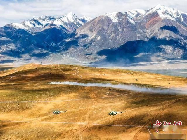 多兵種聯合作戰 西藏軍區舉行立體拔