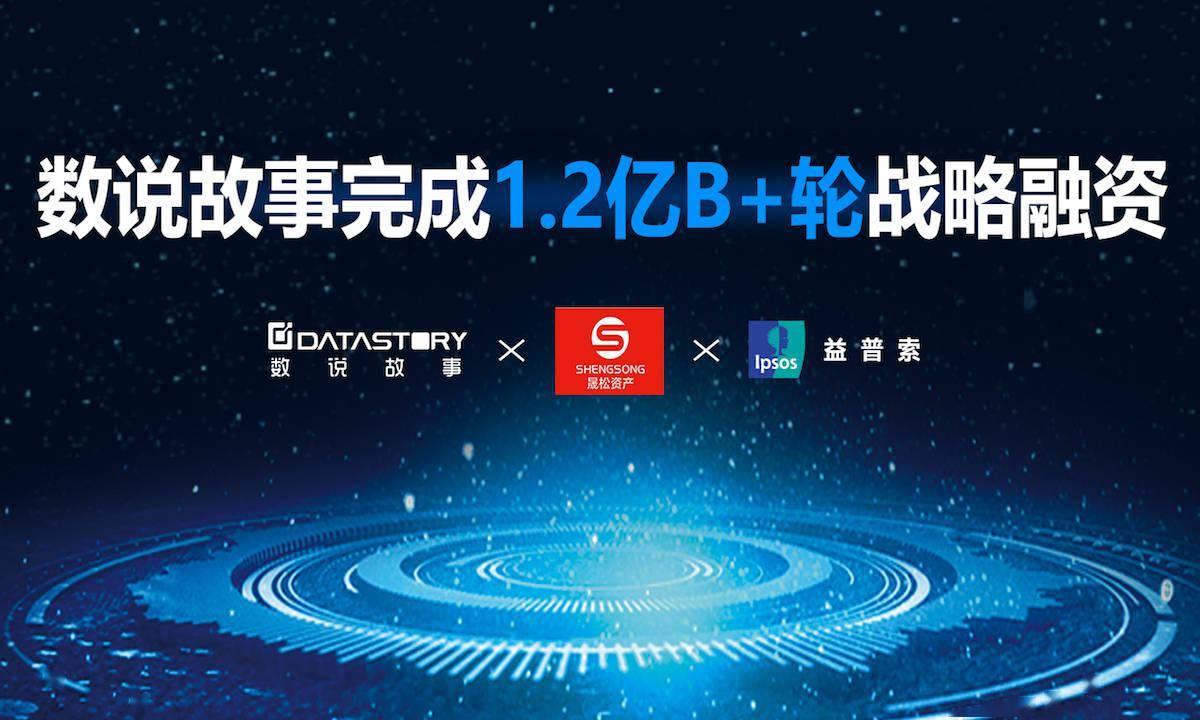 """一站式大数据及AI智能商业应用提供商""""数说故事""""完成1.2亿元B+轮战略融资"""