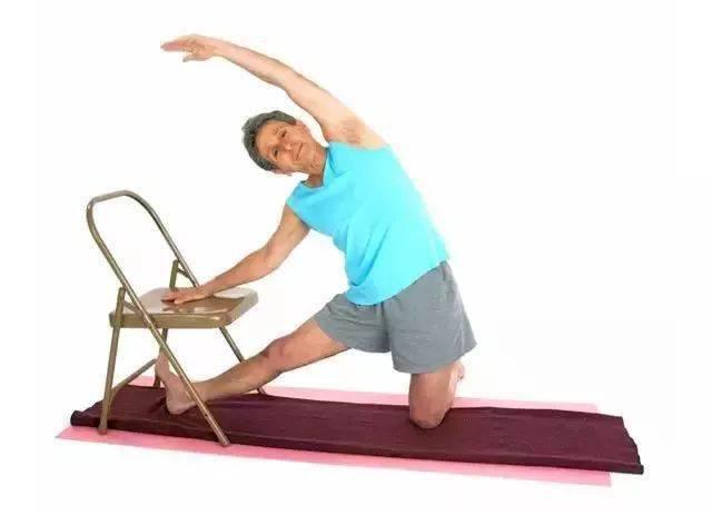 瑜伽体式,伸展肋间肌的门闩式 减肥窍门 第11张