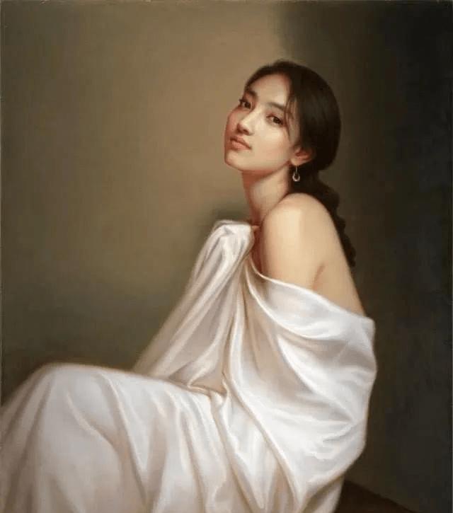 油画创作是我们认识和理解世界的一门艺术,人体油画大师的巅峰之作