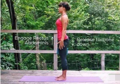 如何在瑜伽站立体式中找到稳定?(干货) 减肥窍门 第5张