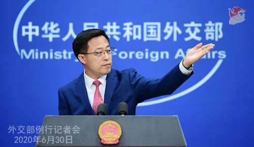 外交部:呼吁有关各方坚持和谈战略选择不要采