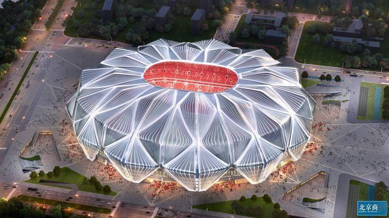 颜值与内涵齐飞!广州恒大足球场方案揭开真正面纱