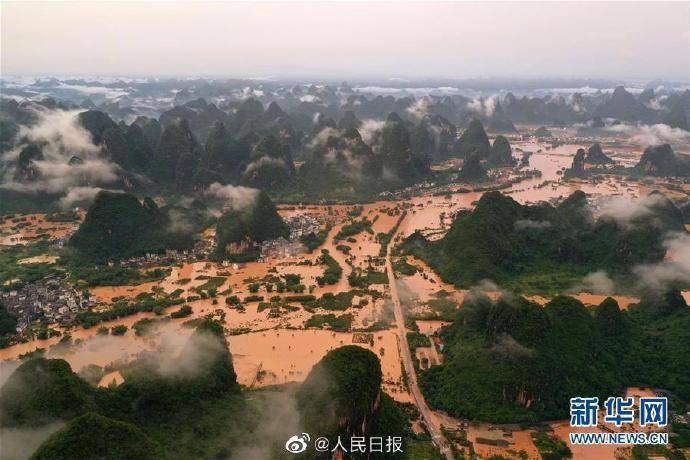 今年洪涝灾害已致26省份1938万人次受灾