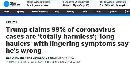 99%的新冠病例完全无害,哈佛大学全球健康研究所主任阿希什,淡化新冠病毒的危险的行为就是有害的(图1)