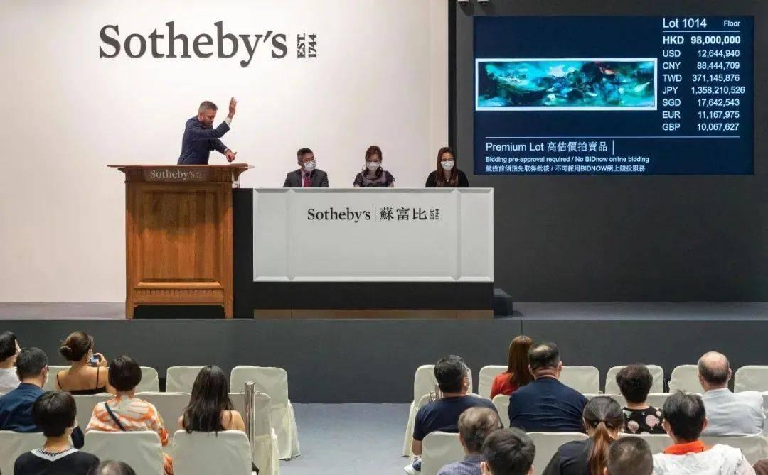 """8.68亿成交,苏富比现代艺术晚拍驱散""""市场寒冬"""""""