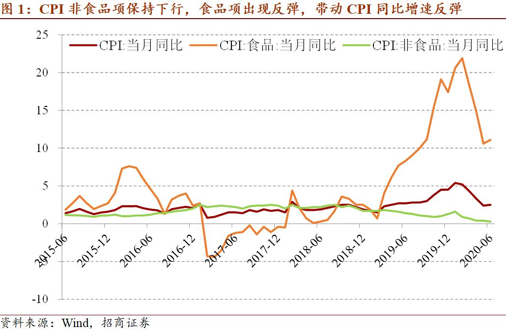 【招商宏观】非食品项增速新低的政策含义——2020年6月价格指数分析月报