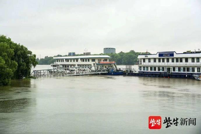 长江江苏段大水预警变革降低了多条河道的大水预警品级