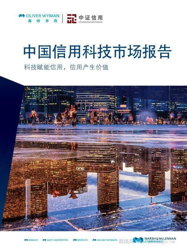 金融人工智能&奥纬咨询&中证信用:中国信用科技市场报告
