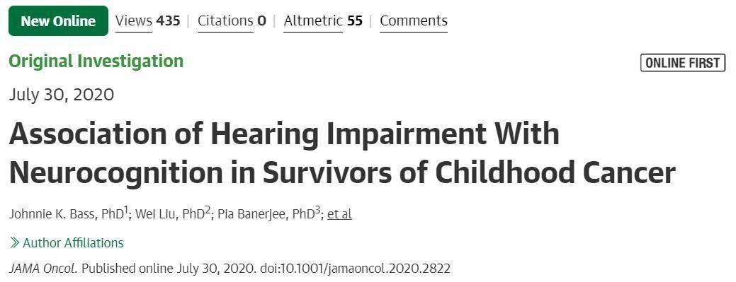 儿童癌症后患无穷!心疼这些可怜的孩子