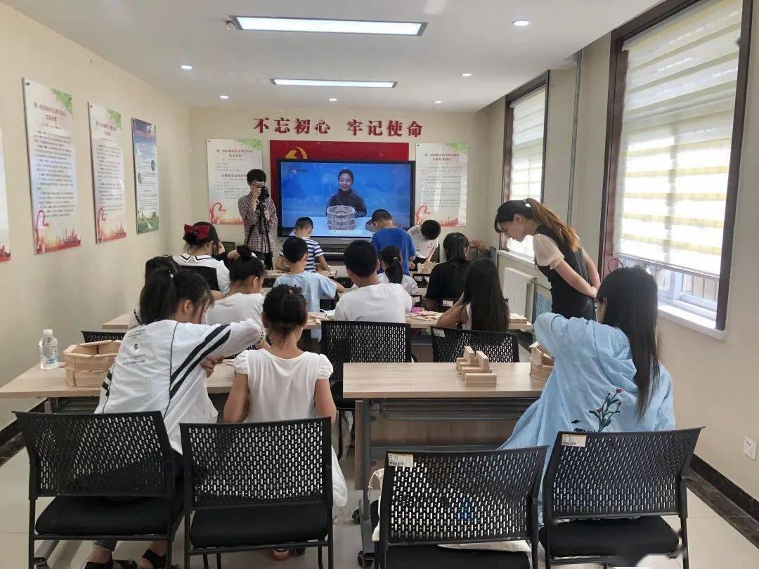"""""""聚青春·公益行""""志愿服务发展平台 """"济南新地标""""创意搭建活动顺利开展"""