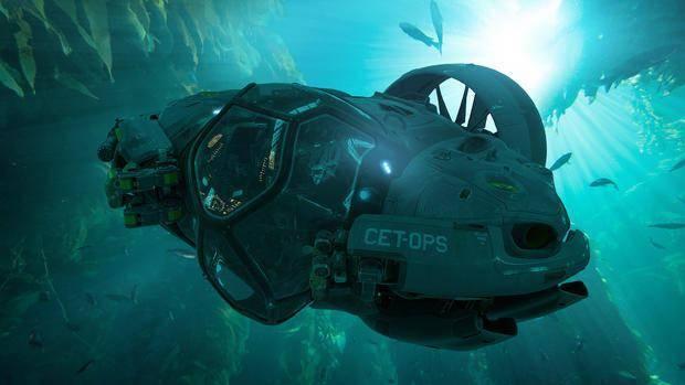 卡神《阿凡达2》曝多功能潜水器概念图