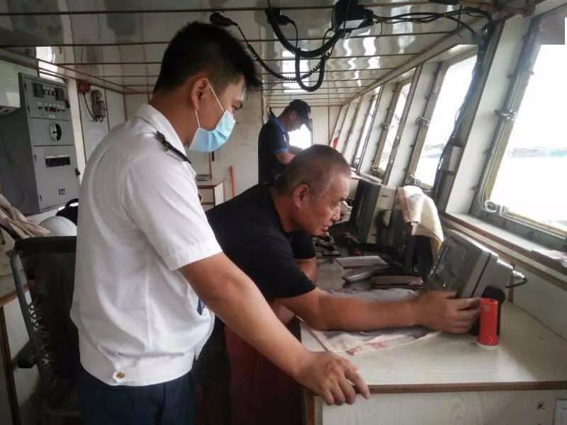 防城港:一船舶私装大功率无线电设备被