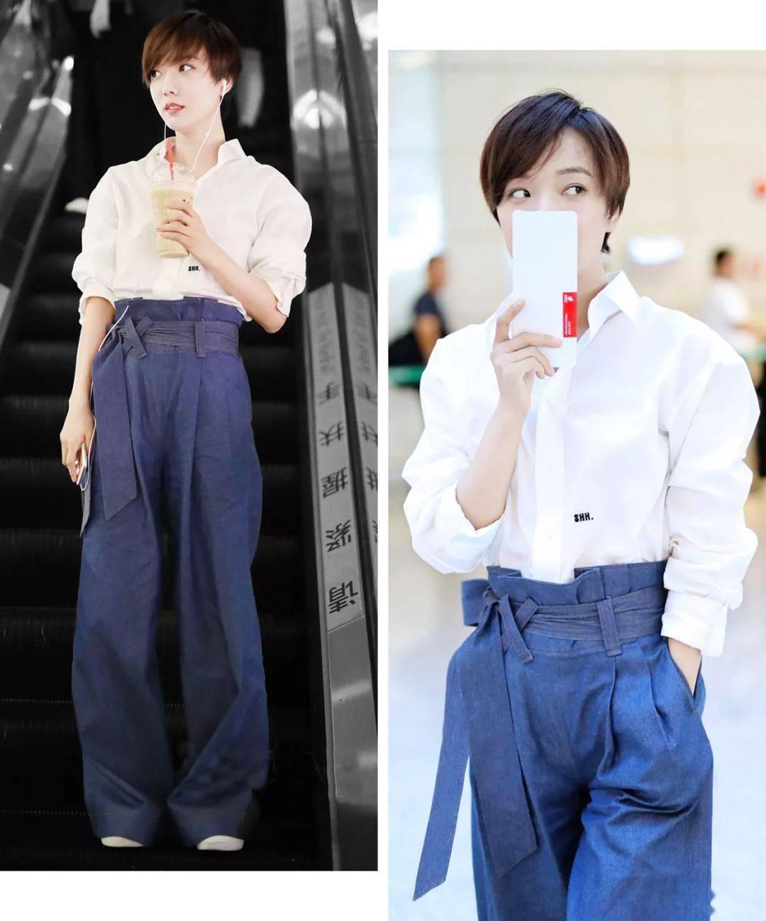 这三种裤子,不用减肥就能秀出好身材!