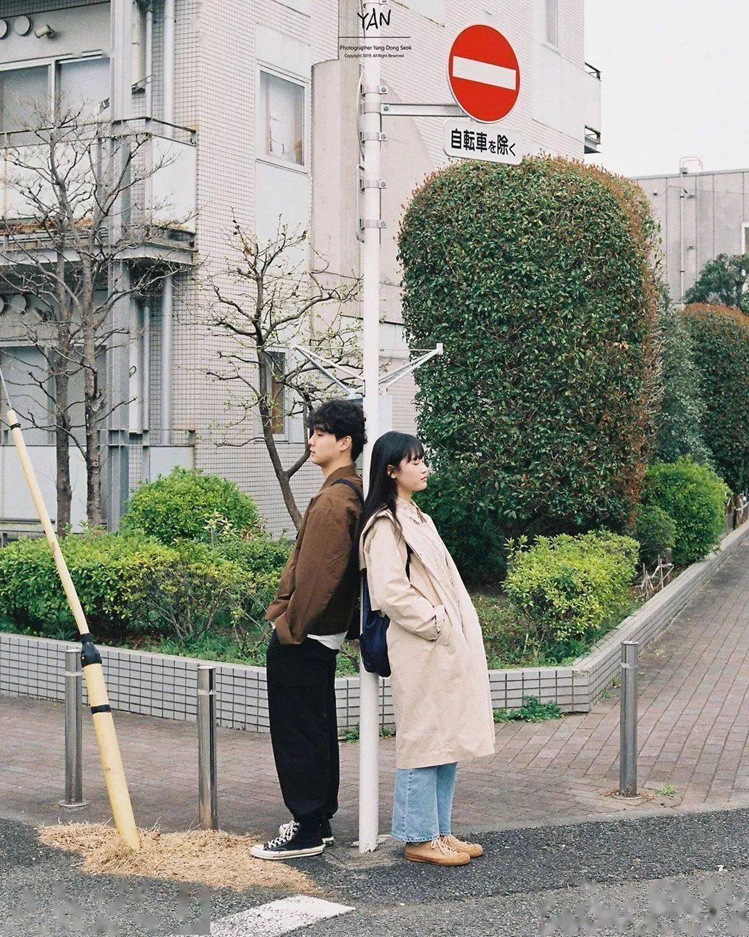 情侣照 pose 大全!前方高甜甜甜!插图(33)