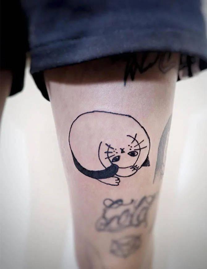 太酷了!日本女孩6岁入行,是全世界最小纹身师…看完我却只想拥有同款爸爸!插图(45)