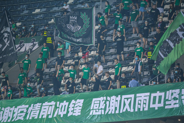 足球——中超:北京中赫国安不敌上海上港