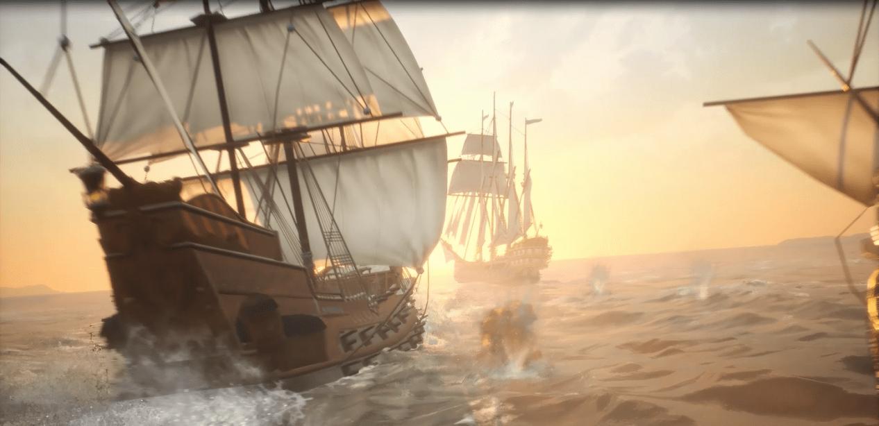 航海冒险MMO手游《黎明之海》发布概念宣传片 欧洲大航海时代的背景