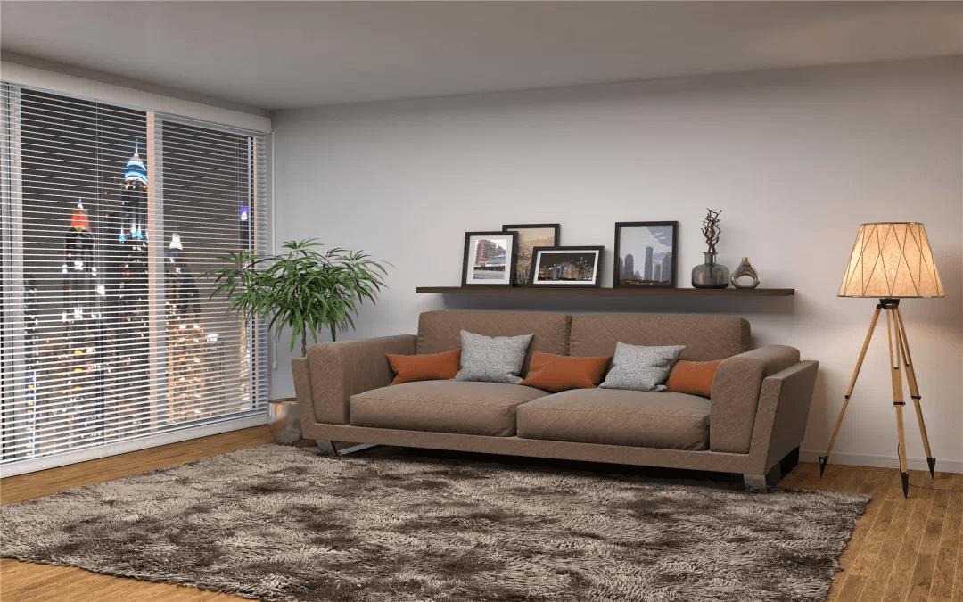 家居壁纸 : 你的租房贴壁纸了吗 亚博App(图2)