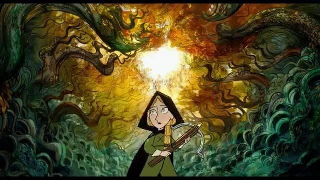 《海洋之歌》导演新作《狼行者》正式预告公开 讲述11岁女孩罗芬的神奇经历