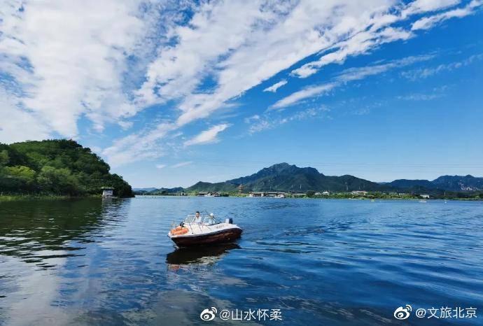 京郊的雁栖湖秋游打卡正