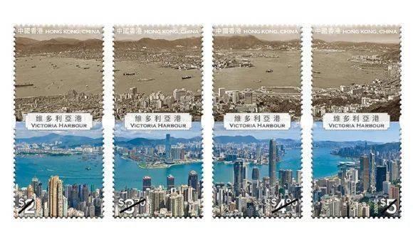 中国香港9月29日将发行《香港今夕 维多利亚港》