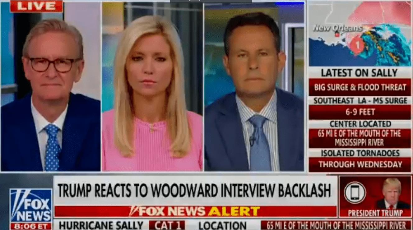 特朗普接受采访回应伍德沃德的新书:我