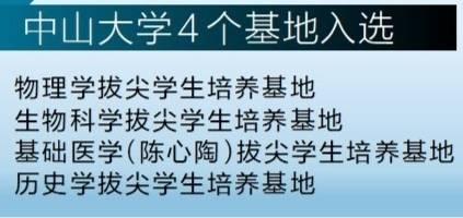 首批顶尖项目2.0基地来到中大,成为广东唯一入选的大学。 广东首批温泉