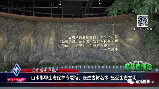 山水邯郸生态保护专题馆:走进古树名木  感受生态文明