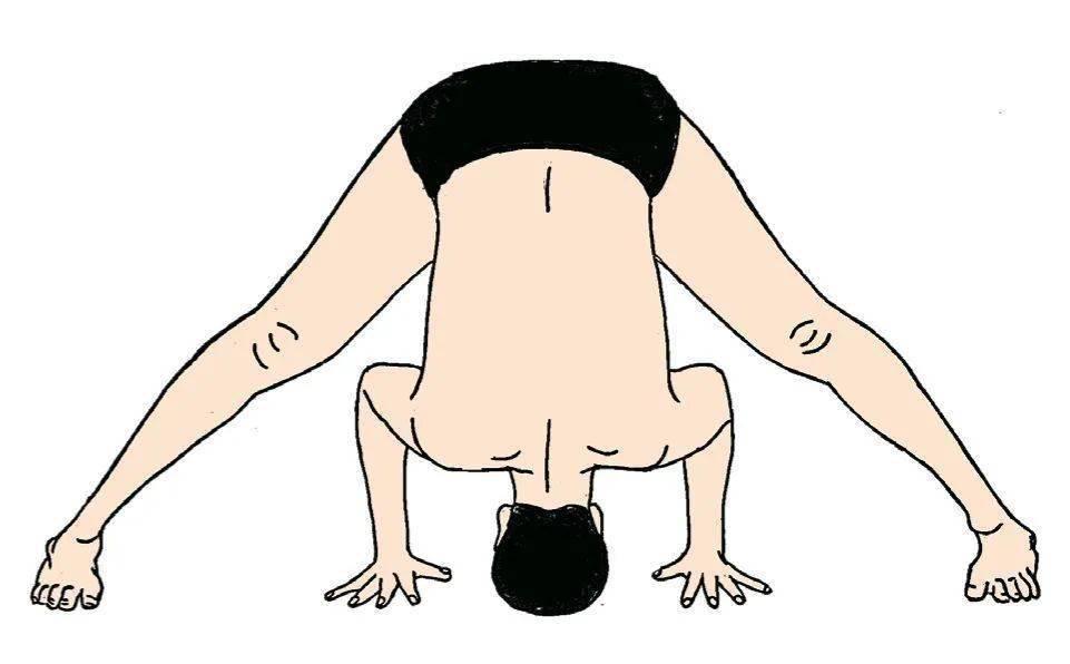 睡前常练4个体式, 身体暖了, 病毒远离你_瑜伽