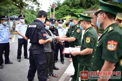 """越南籍逃犯在上思藏匿一年多 因不会说""""虾""""被""""抓包"""""""
