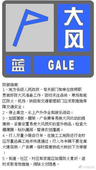 今起新一股冷空气影响中东部,北京发布大风蓝色预警